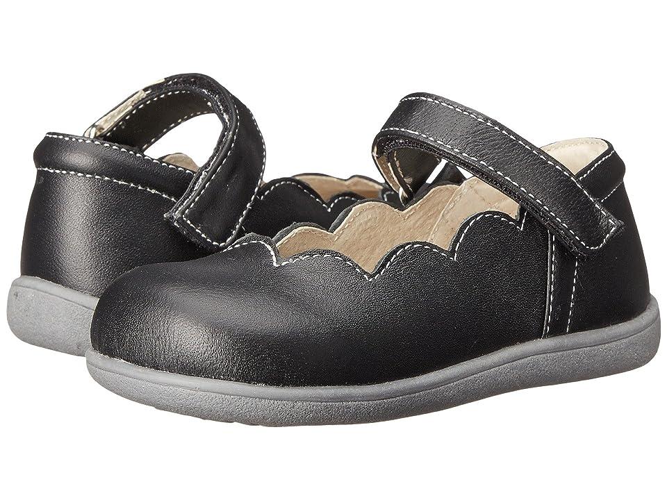 See Kai Run Kids Savannah (Toddler) (Black) Girls Shoes