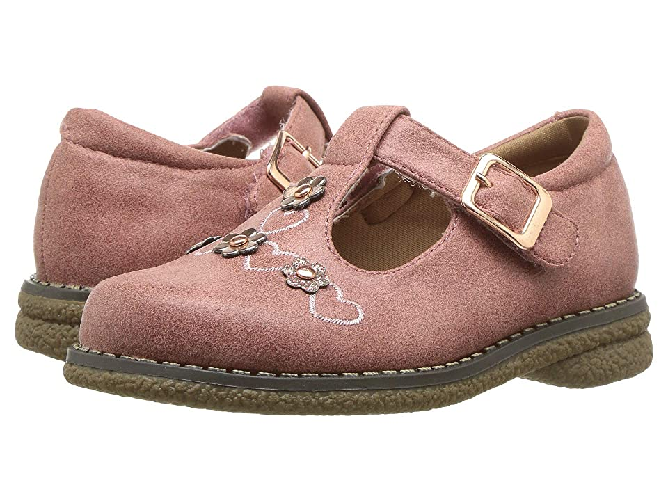 Rachel Kids Francesca (Toddler/Little Kid) (Dusty Rose/Metallic) Girl