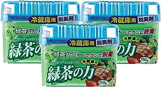 小久保 脱臭剤 緑茶の力 冷蔵庫用 150g×3個セット