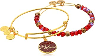 Women's Believe Set of 2 Color Infusion Wine