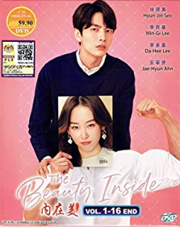 THE BEAUTY INSIDE - COMPLETE TV SERIES (KOREAN TV SERIES, 1-16 EPISODES, ENGLISH SUBTITLES, ALL REGION)