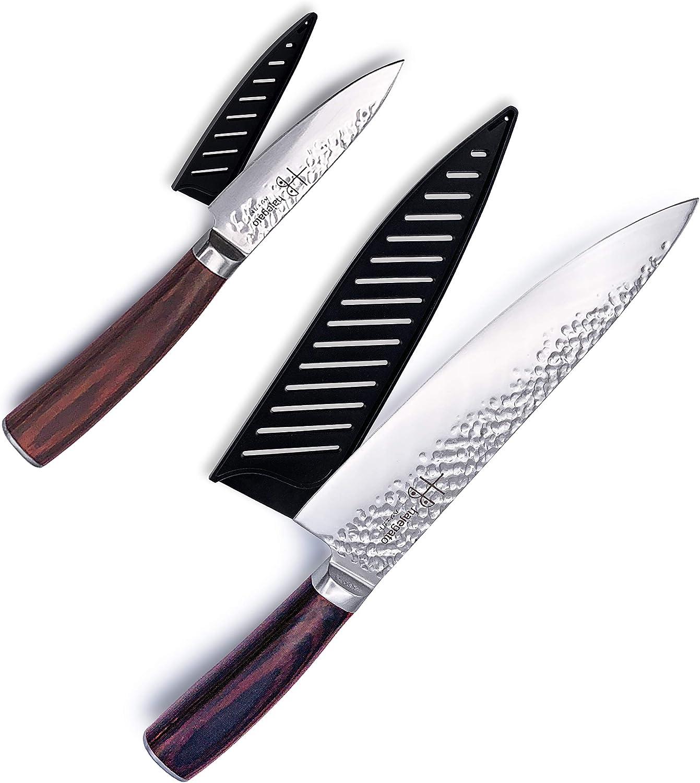 Japanese Ranking TOP12 Chef Knifes Set Hajegato Par Portland Mall Chefs Knife Professional