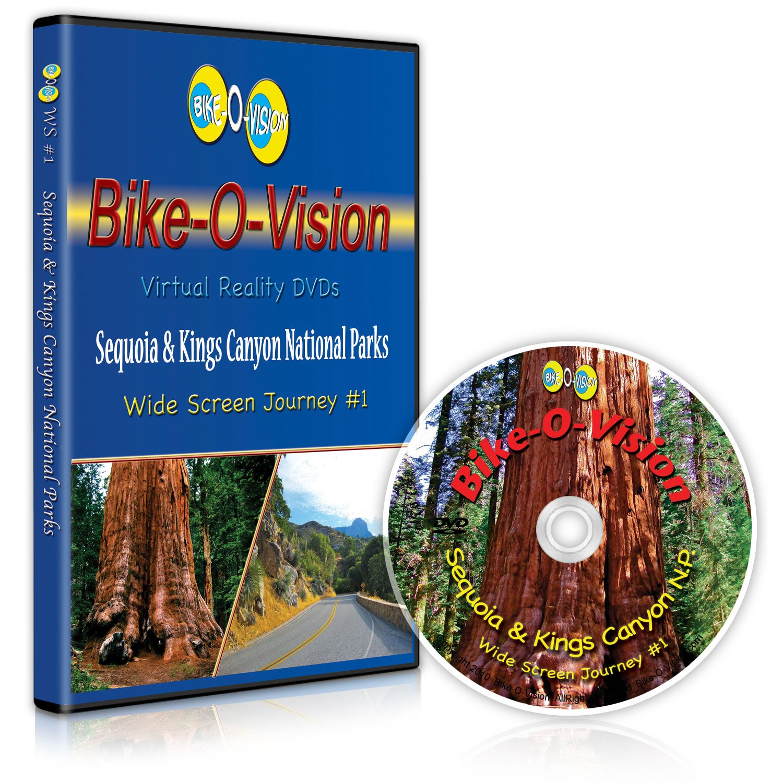 Bike-O-Vision: Cycling Journey Free Shipping Cheap Bargain Gift - Kings National Memphis Mall Sequoia Canyon