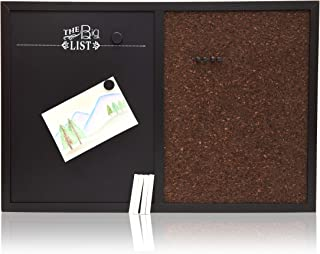 Juvale Chalkboard Corkboard Bulletin Board Combo (24 x 16 Inches)