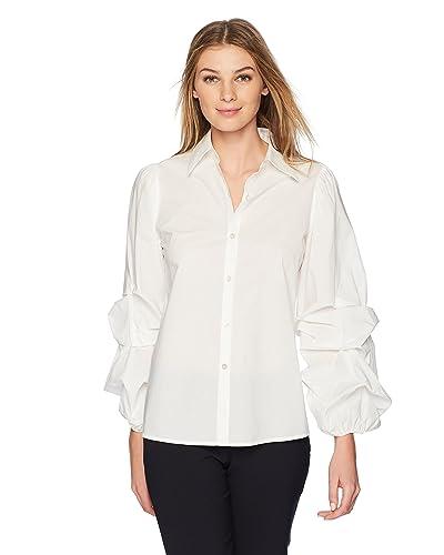 ecc09b6938d Women s White Dressy Tops  Amazon.com