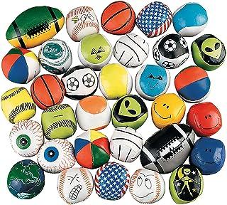 Fun Express Mega Kick Ball Bulk Assortment (100 Balls) Perfect for Indoor or Outdoor Play