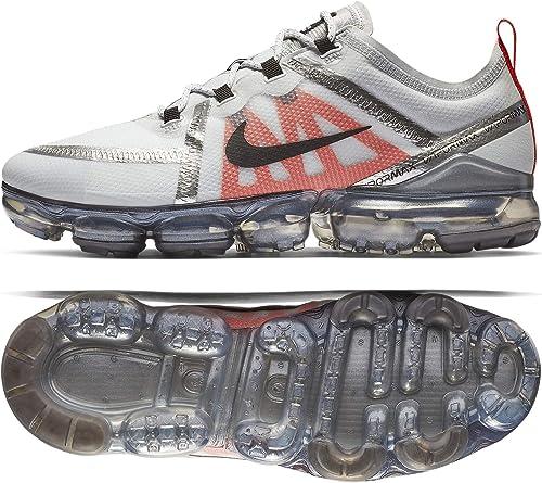 Nike Air Vapormax 2019 AR6631-003 Pure Platinum Orange - Hausschuhe de Running para Hombre