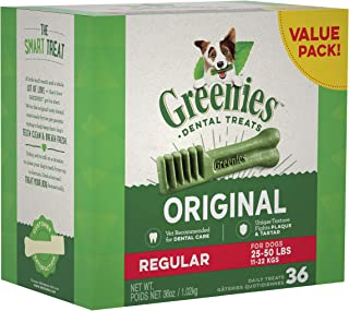 Greenies Original Regular Size Natural Dental Dog Treats