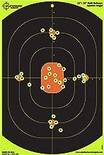 Splatterburst Targets - 12 x 18 inch Bullseye Reactive Shooting Target - Shots Burst Bright Fluorescent Yellow Upon Impact - Gun - Rifle - Pistol - AirSoft - BB Gun - Pellet Gun - Air Rifle