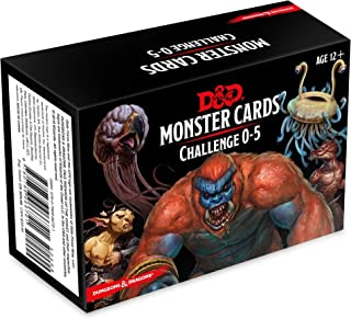 Ares Games D&D Spellbook Cards Monster Deck 0-5 (179 cards) RPG