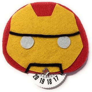 Disco orario con Iron Man - avengers idea regalo