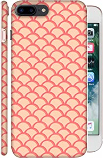 ColorKing Apple iPhone 7 Plus Case Shell Cover - Waves 002 Multi Color