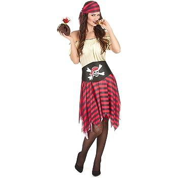 Disfraz pirata mujer - M: Amazon.es: Juguetes y juegos