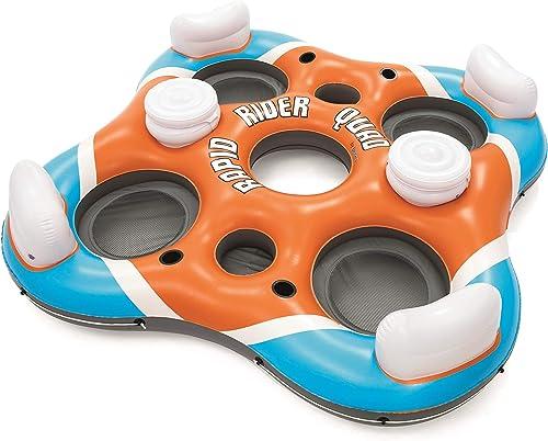 lowest Bestway online 1043115 Rapid Rider X4 River, Lake, Pool Tube Float, sale White/Blue online