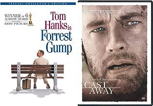 Director Robert Zemeckis and Oscar Winning Actor Tom Hanks 2-Movie Bundle Forrest Gump and Cast Away DVD Bundle