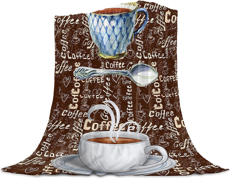 ARTSHOWING Coffee Super Free shipping / New Soft Blanket Decorative Throw Trust Blankets