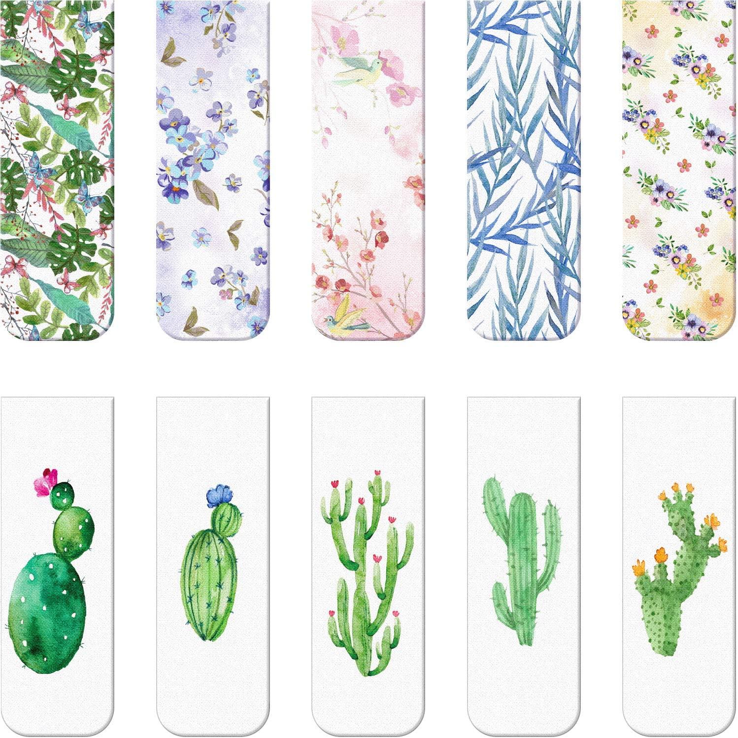 10 Pieces Magnetic Bookmarks Magnet M Book Assorted Max Ultra-Cheap Deals 68% OFF Page Markers