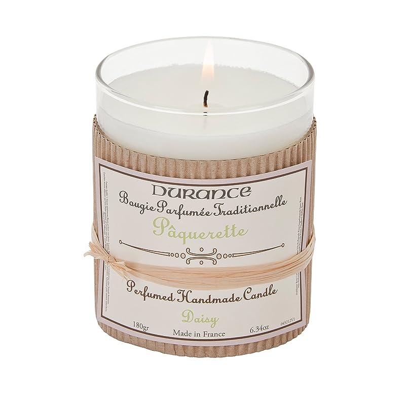拳スケジュールふさわしいDurance De Provence Hand Crafted Scented Candle - Daisy