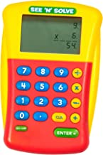 Educational Insights See 'N' Solve Visual Calculator, Vertical Format, Ages 9 and up