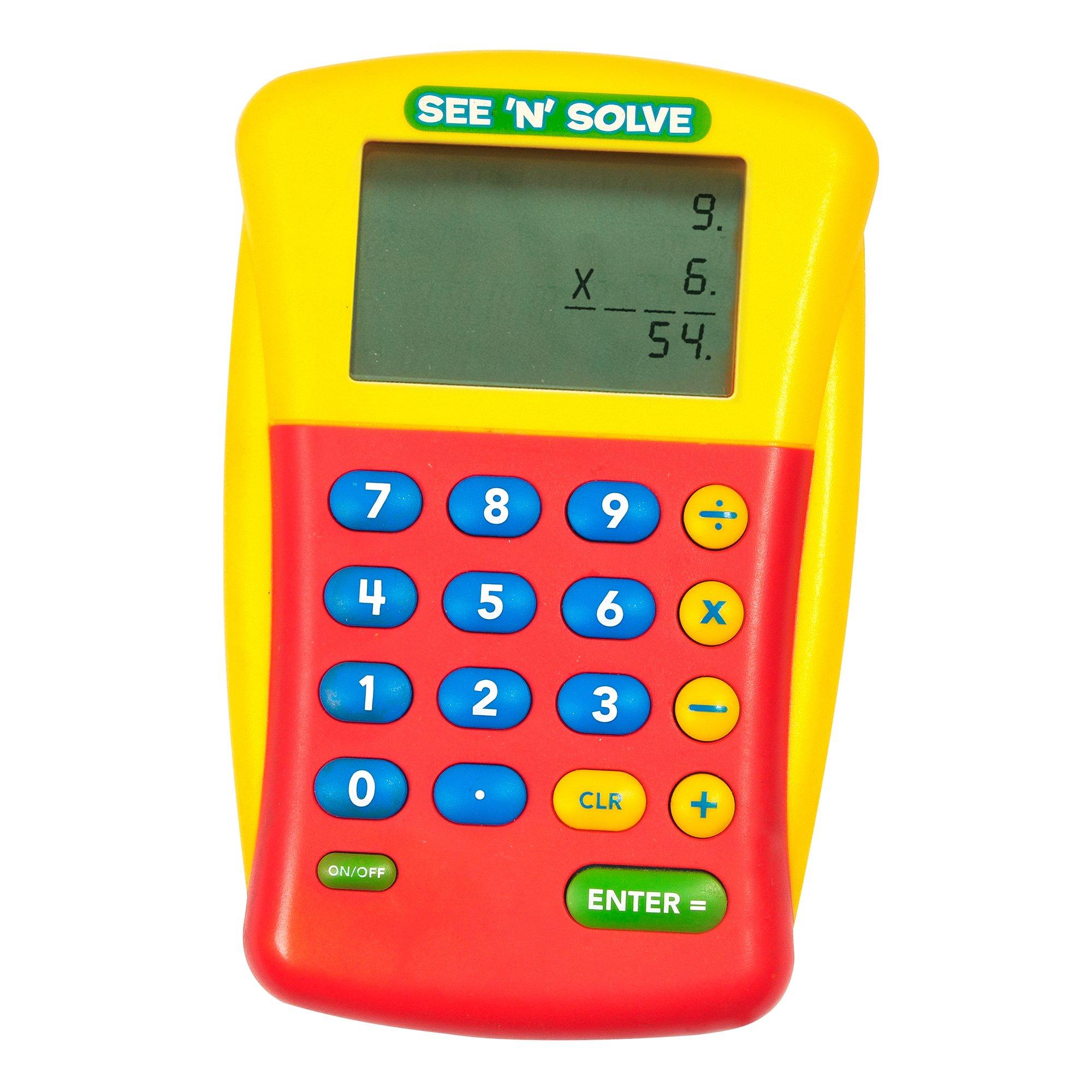 Educational Insights Solve Visual Calculator