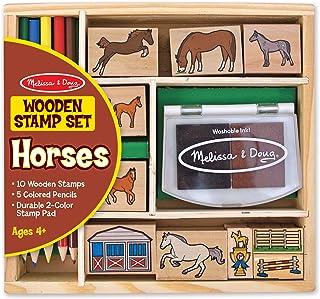 Melissa and Doug Horses Stamp Set