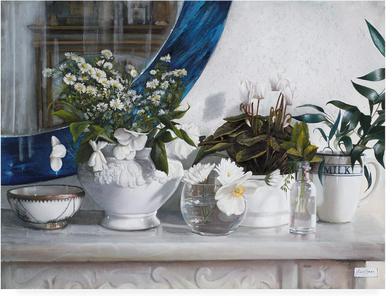 Trademark Fine Art Milk Floral