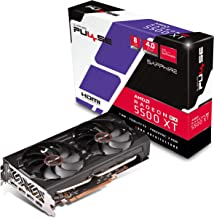 Sapphire 11295-01-20G Radeon Pulse RX 5500 XT 8GB GDDR6 HDMI / Triple DP OC w/ Backplate (UEFI) PCIe 4.0 Graphics Card