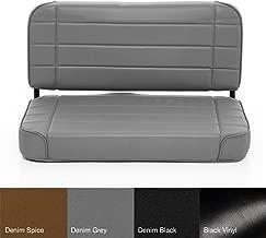 Smittybilt 8011N Denim Gray Standard Rear Seat