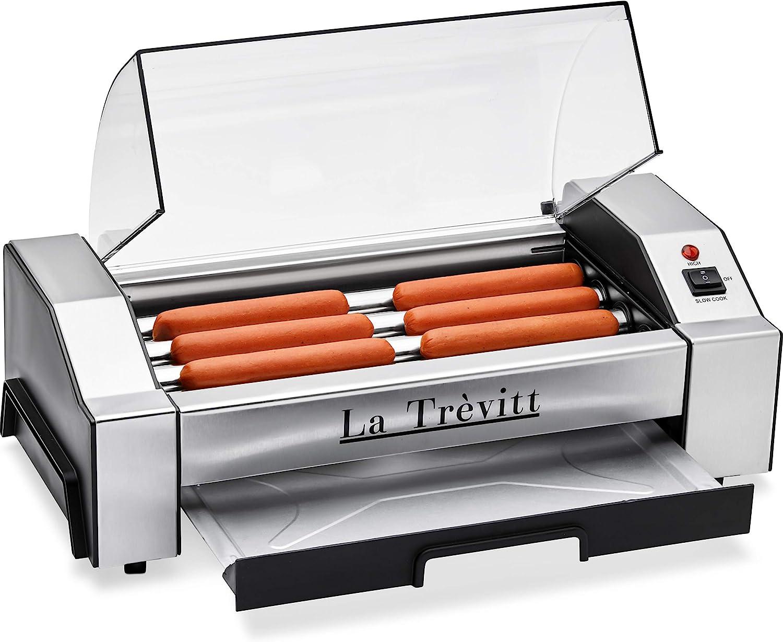 La Trevitt Hot Dog Roller- Sausage Grill Cooker Machine