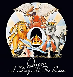 Sticker Queen A Day At The Races Album Cover Art English Rock Band Music Decal