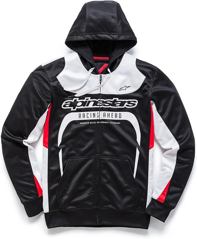 Alpinestars Men/'s Motorcycle MX Casuals Fan Club Zip Fleece Hoodie New