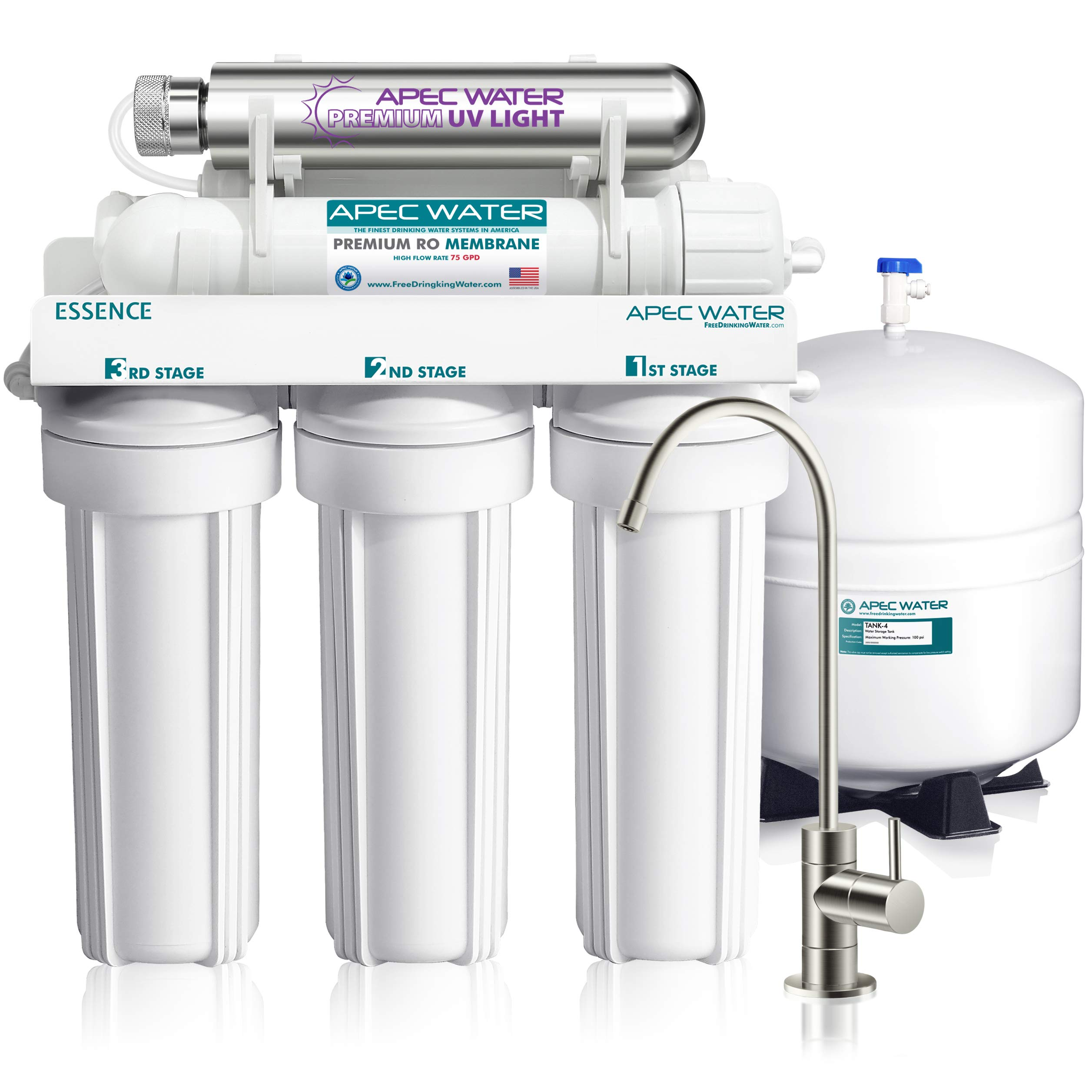 APEC Water Systems ROES UV75 SS Sterilizer