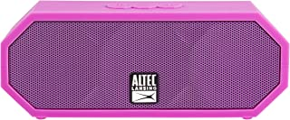 Altec Lansing IMW457-PP-ECOM Jacket H2O 2 Bluetooth Speaker, IP67 Waterproof, Shockproof and Snowproof Rated and It Floats Rating, 8 Hours of Battery, Ultra Portable, Compact Design, Pink