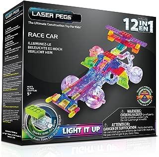 Laser Pegs 12-in-1 Race Car Building Set