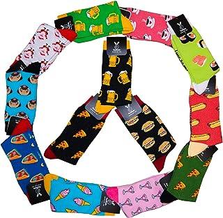 calcetines divertidos para hombre y para mujer medias divertidas como regalo, algodón, talla única