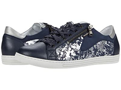 Mephisto Hawai Shiny (Navy Embossed) Women