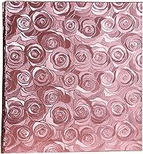 Ksmxos Frame Cover Photo Album 600 Pockets Holds 4x6 Photos Pink