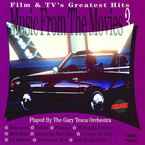 Music From The Movies Part 3 / The Instrumental Versions by