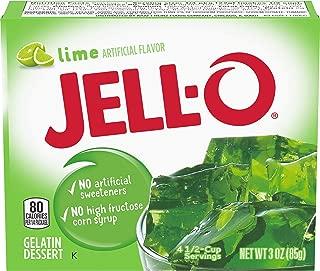 JELL-O Lime Gelatin Dessert Mix (3 oz Box)