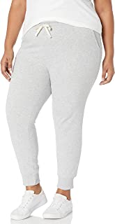 Amazon Essentials Women's Plus Size French Terry Fleece Jogger Sweatpant