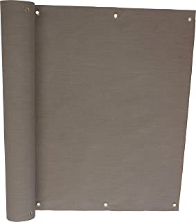 Angerer Balkonbespannung Style Taupe, Höhe 75 cm, Länge 8 Meter, 3318/009_800