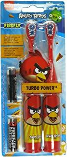Firefly Angry Birds Turbo Power 2 Pack Toothbrushes