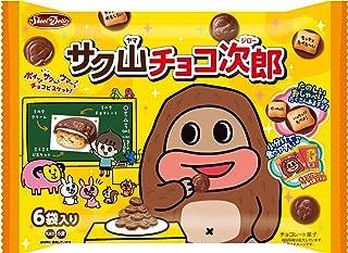 正栄デリシィ サク山チョコ次郎 6パック×12袋