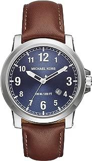 Men's Paxton Brown stainless steel-Tone Watch MK8501