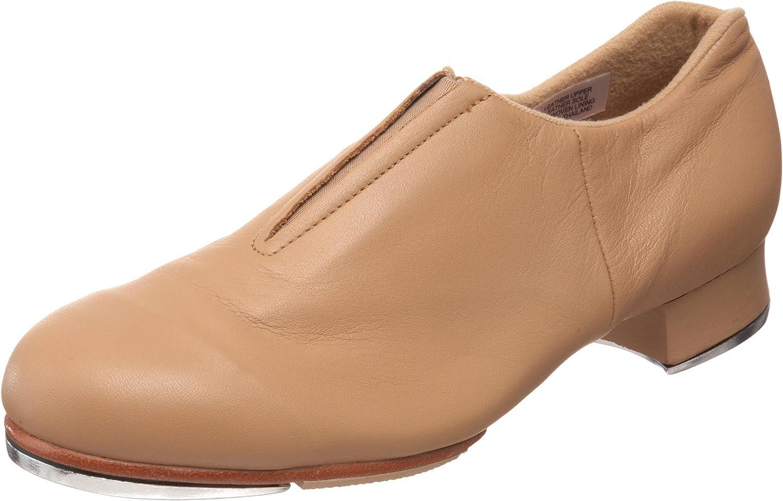 Bloch Dance Women's Tap-Flex Leather Slip On Tap shoes