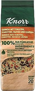 Knorr Quinoa mit Tomate, Karotten, Oliven und Kapern 100 Prozent natürliche Zutaten, 1er Pack 1 x 548 g