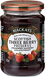 Mackays Preserve Three Berry -- 12 oz