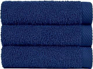 Lasa Towel Set Baño (100 x 150 cm), lavabo y tocador Ultramarine