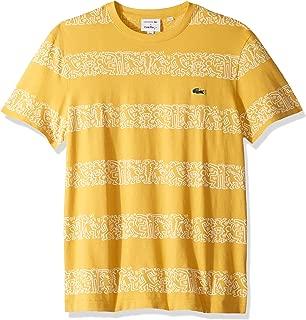 Men's S/S Printed Stripes Jersey T-Shirt