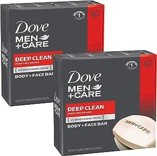 مردان کبوتر + مراقبت از بدن و نوار صورت ، Deep Clean ، 4 اونس ، 20 بار